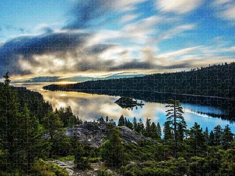 Emerald Bay Sunrise Lake Tahoe - Puzzle