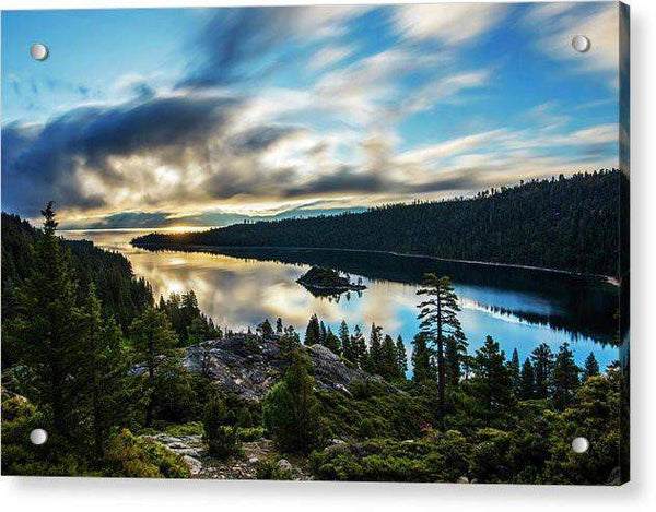 Emerald Bay Sunrise Lake Tahoe - Acrylic Print