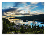 Emerald Bay Sunrise Lake Tahoe - Blanket