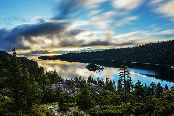 Emerald Bay Sunrise Lake Tahoe - Art Print
