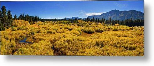Fall Colors At Kiva - Metal Print