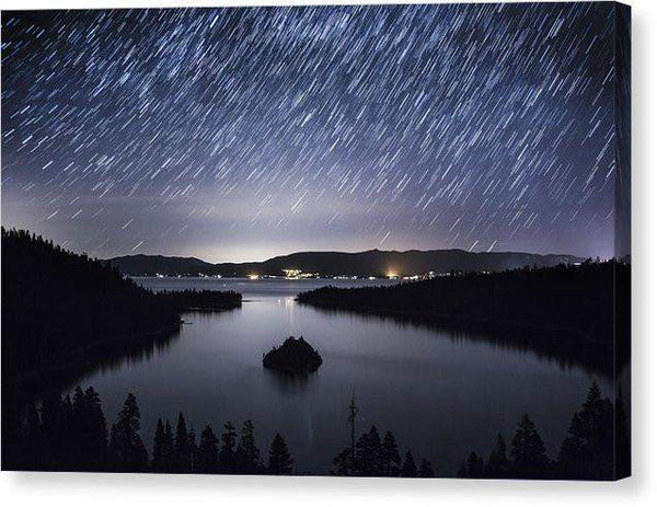 "Falling Angels - Canvas Print-10.000"" x 6.625""-Lake Tahoe Prints"