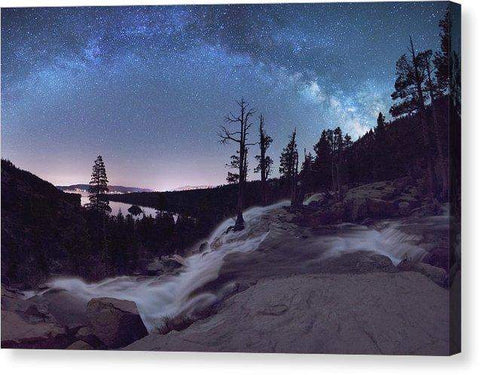 "Flowing Dreams - Emerald Bay By Brad Scott - Canvas Print-10.000"" x 6.750""-Lake Tahoe Prints"