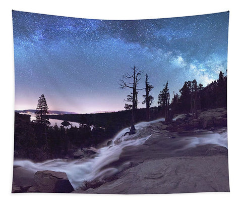 Flowing Dreams - Emerald Bay By Brad Scott - Tapestry