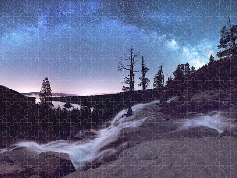 Flowing Dreams - Emerald Bay by Brad Scott - Puzzle