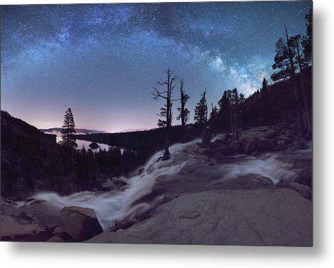 Flowing Dreams - Emerald Bay By Brad Scott - Metal Print