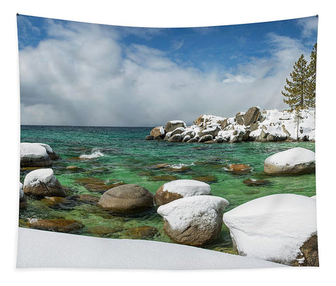 Frozen Aquas By Brad Scott - Tapestry