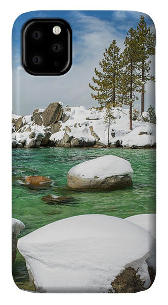 Frozen Aquas By Brad Scott - Phone Case