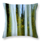 Ghosts Of Fall - Throw Pillow-Lake Tahoe Prints
