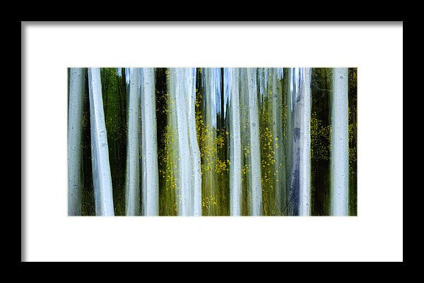 Ghosts Of Fall - Framed Print