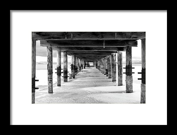 Give Me Shelter By Brad Scott - Framed Print