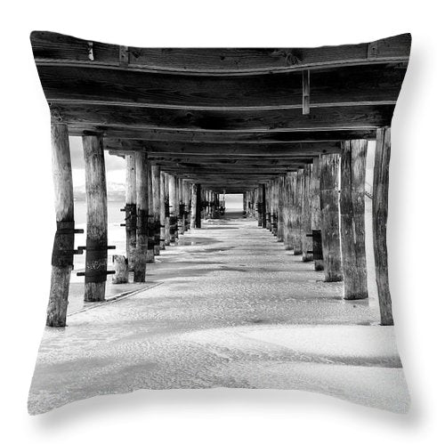 Give Me Shelter By Brad Scott - Throw Pillow-Lake Tahoe Prints