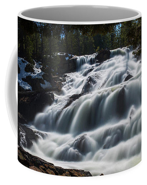 Glen Alpine Waterfall By Brad Scott - Mug