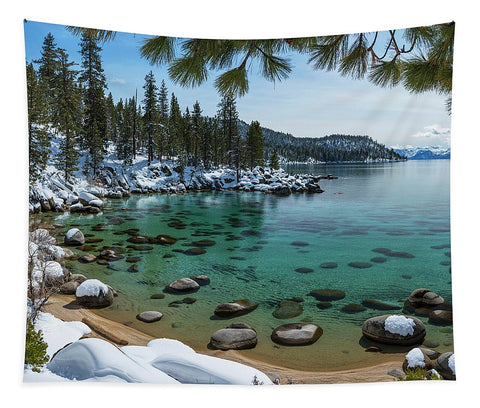 Glistening Cove By Brad Scott - Tapestry