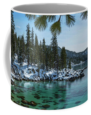 Glistening Cove By Brad Scott - Mug