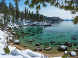 Glistening Cove By Brad Scott - Canvas Print-Lake Tahoe Prints