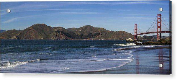 Golden Gate Bridge Panorama - Acrylic Print