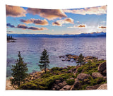 Heavenly Glow At Sand Harbor By Brad Scott - Tapestry