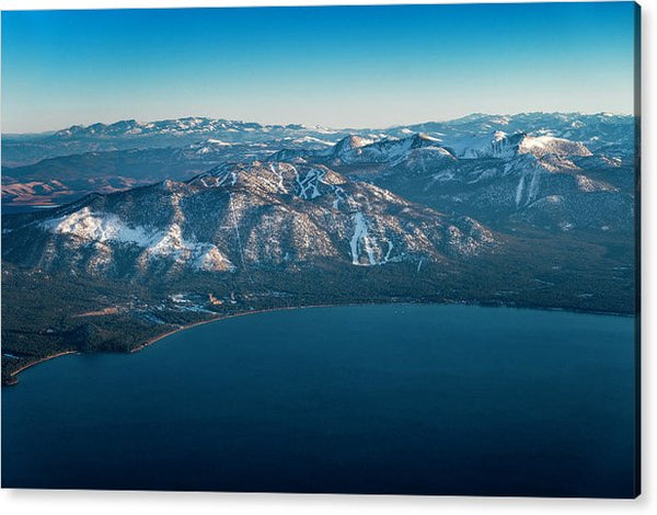 Heavenly Lake Tahoe Aerial - Acrylic Print