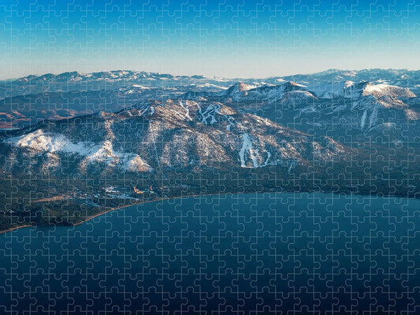Heavenly Lake Tahoe Aerial - Puzzle