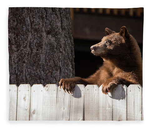 Hey There Neighbor By Brad Scott - Blanket-Lake Tahoe Prints