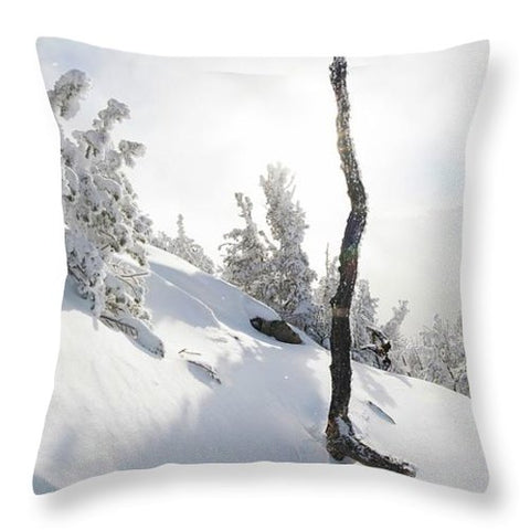 Lightning Tree By Brad Scott - Throw Pillow