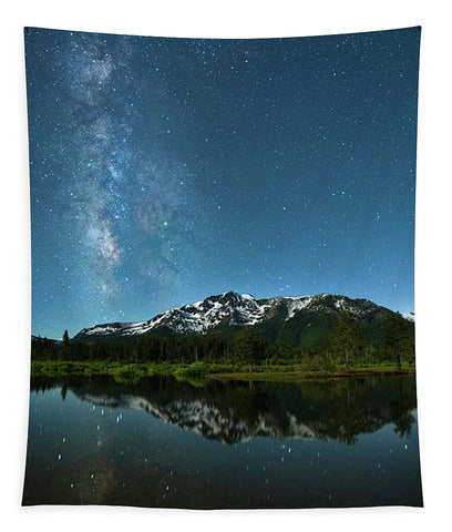Milkyway Over Tallac By Brad Scott - Tapestry