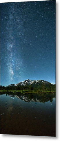 Milkyway Over Tallac By Brad Scott - Metal Print-Lake Tahoe Prints
