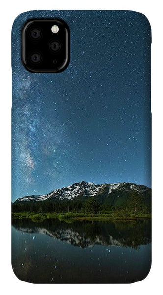 Milkyway Over Tallac By Brad Scott - Phone Case