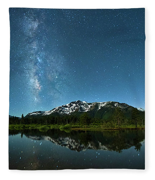 Milkyway Over Tallac By Brad Scott - Blanket