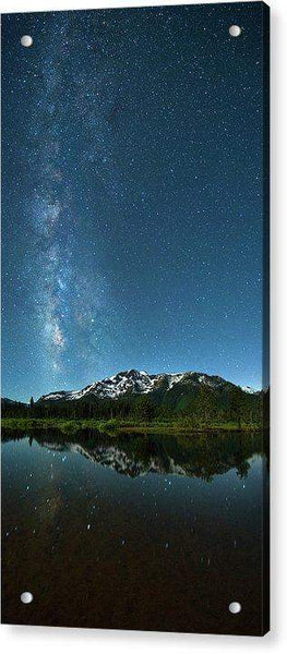 Milkyway Over Tallac By Brad Scott - Acrylic Print