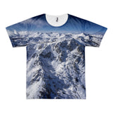 The Cross Mt Tallac Short sleeve Men's T-shirt (unisex)