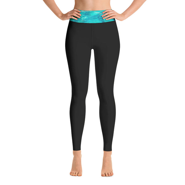 Tahoe Aquas Womens Yoga Leggings