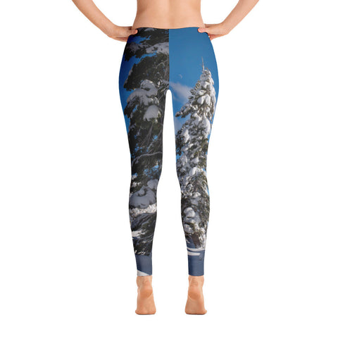 Tahoe Winter Trees Limited Edition Leggings