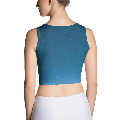Tahoe Stars Yoga Crop Top