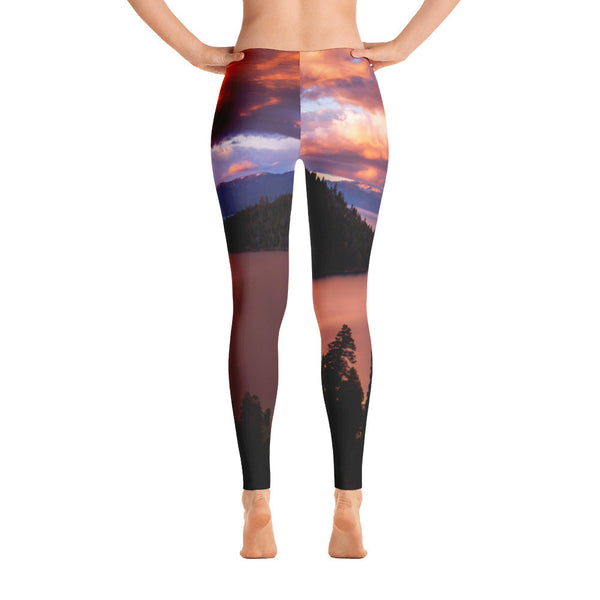 Emerald Bay Fire Limited Edition Leggings