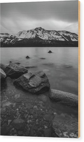Monochromatic Dream By Brad Scott - Wood Print