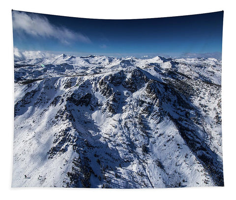 Mt Tallac Winter Aerial - Brad Scott - Tapestry