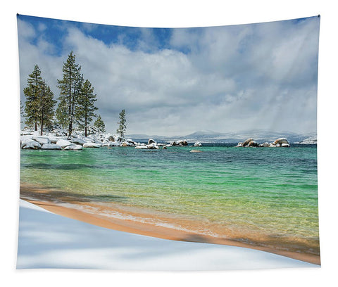 Pristine Shores By Brad Scott - Tapestry