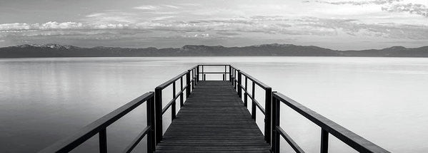 Pure State Of Mind Lake Tahoe Pier - Art Print-Lake Tahoe Prints
