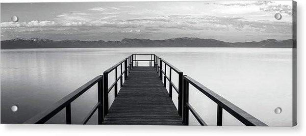 Pure State Of Mind Lake Tahoe Pier - Acrylic Print-Lake Tahoe Prints