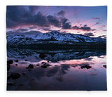 Rose Reflections By Brad Scott - Blanket