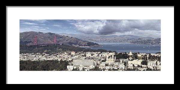 San Francisco - Framed Print