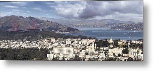 San Francisco - Metal Print