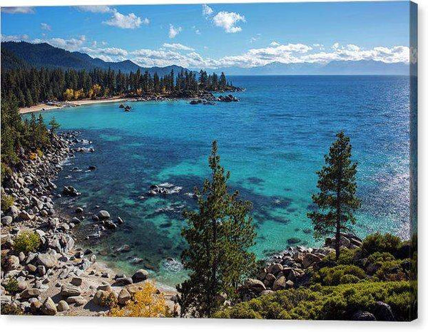 "Sand Harbor Lookout By Brad Scott - Canvas Print-12.000"" x 8.000""-Lake Tahoe Prints"