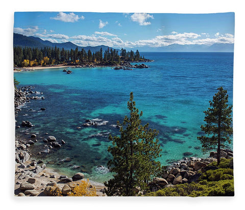 Sand Harbor Lookout By Brad Scott  - Blanket
