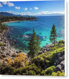 "Sand Harbor Lookout By Brad Scott - Square - Canvas Print-8.000"" x 8.000""-Lake Tahoe Prints"