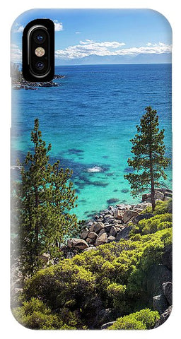 Sand Harbor Lookout By Brad Scott - Square - Phone Case