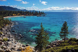 Sand Harbor Lookout By Brad Scott  - Metal Print