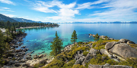 Sand Harbor Panoramic lookout - Art Print